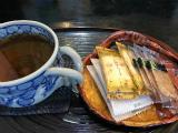 ほうじ茶&煎餅(3/27)