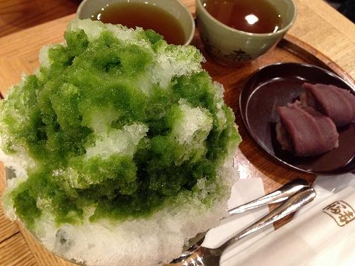 赤福氷&二個盆@名古屋かネット