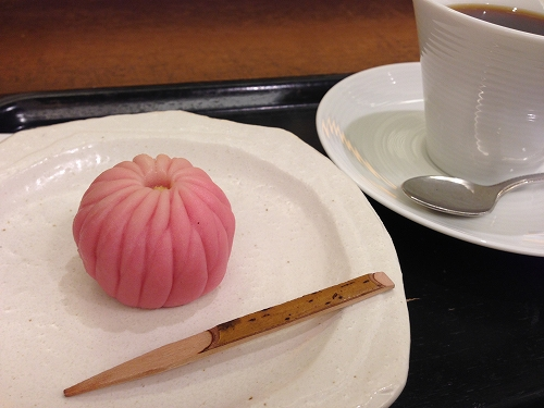 上生菓子と抹茶セット@名古屋かネット