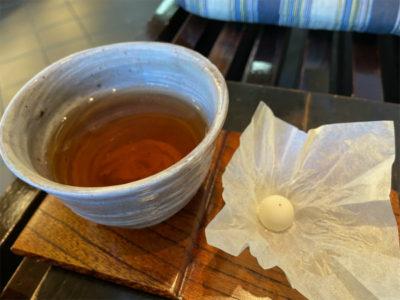 ほうじ茶とおちょぼ@万年堂