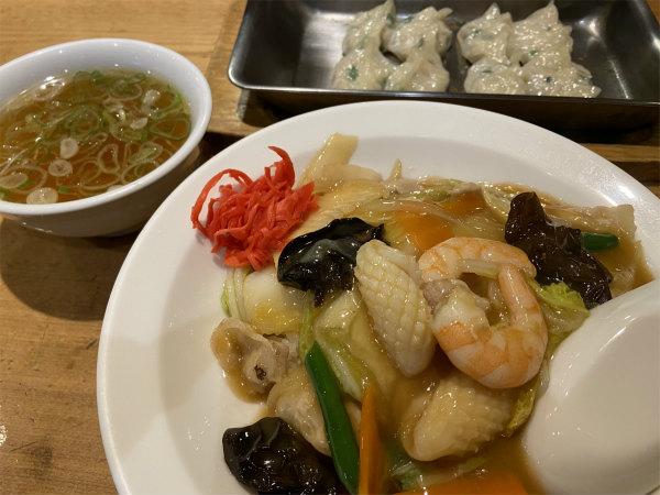 中華飯と餃子@江南柳橋本店