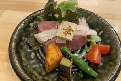 三河赤鶏と魚介の濃厚つけ麺の具(幸先坂)