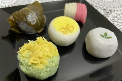 万年堂の生菓子
